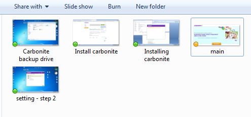 Carbonite features
