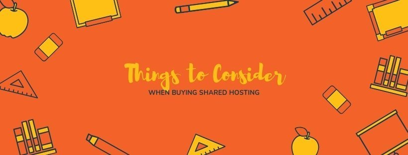 Buying Shared Hosting