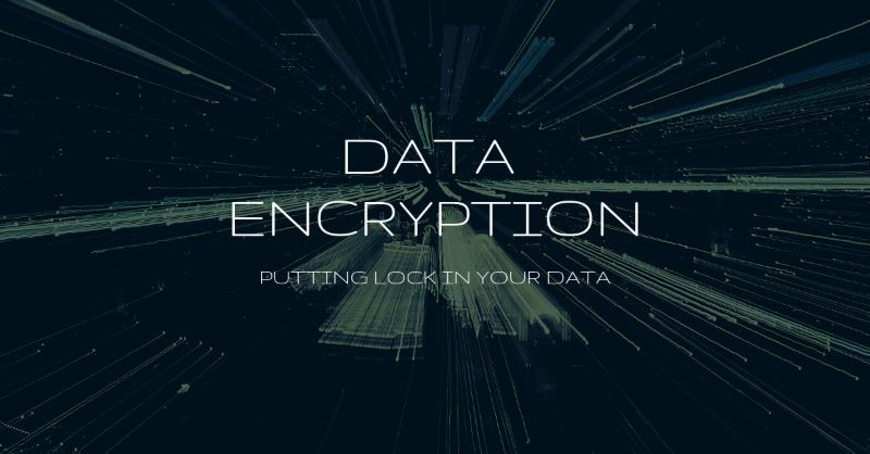 Locking your data through encryption