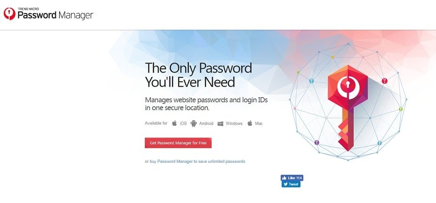 TrendMicro Password Manager