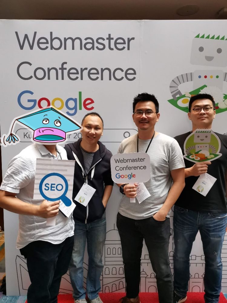 Attending Webmaster Conference 2019