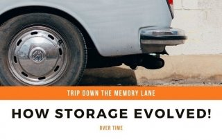 How storage evolved over time