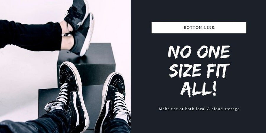 no one size fit all