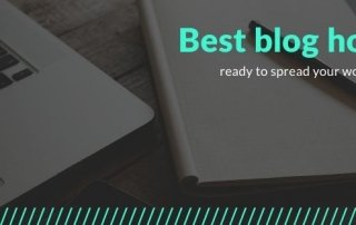 Best blog hosting services