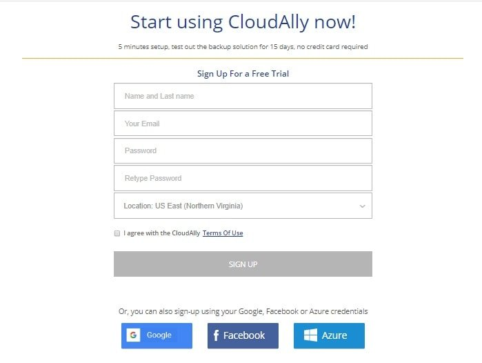 Reviewing CloudAlly