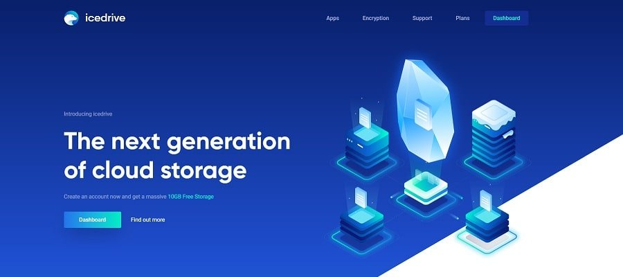 Icedrive - Most Affordable Cloud Storage