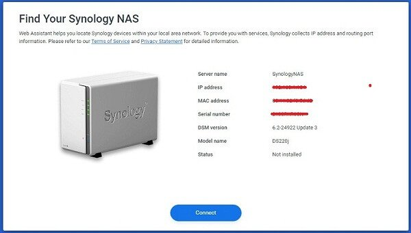 Find Your Synology NAS